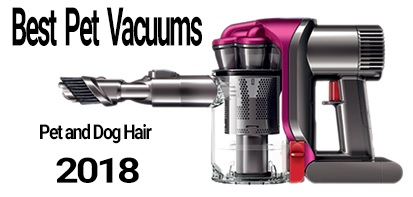 image for the best pest vacuums for pet and dog hair 2018